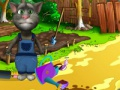 Game Talking Tom Gardener. Online játék