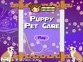 Game Puppy Pet Care . Online játék